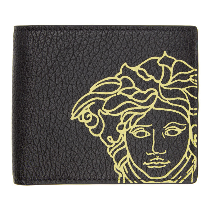 Photo: Versace Black Medusa Bifold Wallet