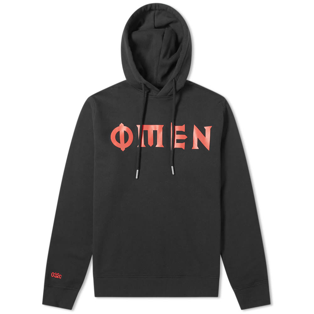 032c Omen Print Hoody