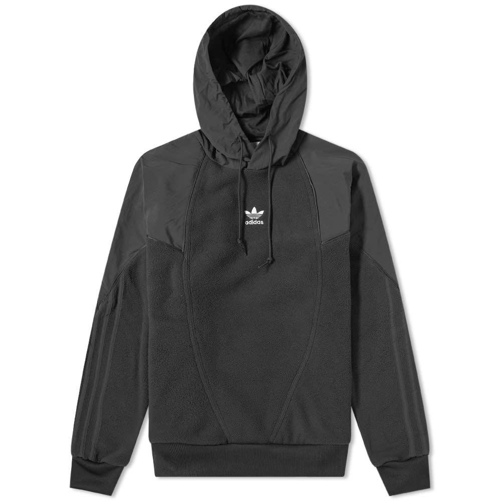 Photo: Adidas Trefoil Mix Fleece Hoody