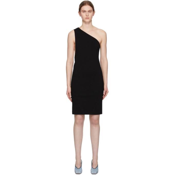 Photo: Bottega Veneta Black One Shoulder Dress