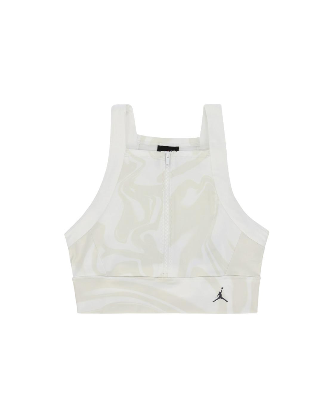Nike Jordan Utility Crop Top White/Gridirion