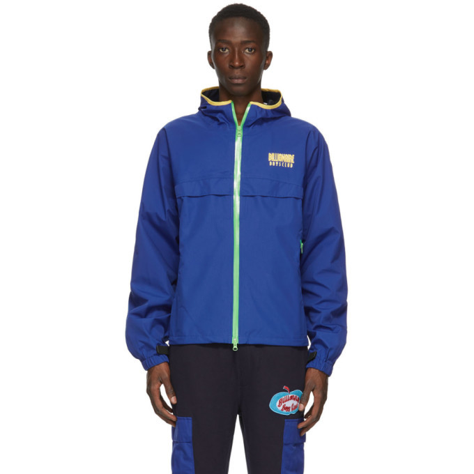 Photo: Billionaire Boys Club Blue Technical Zipped Jacket