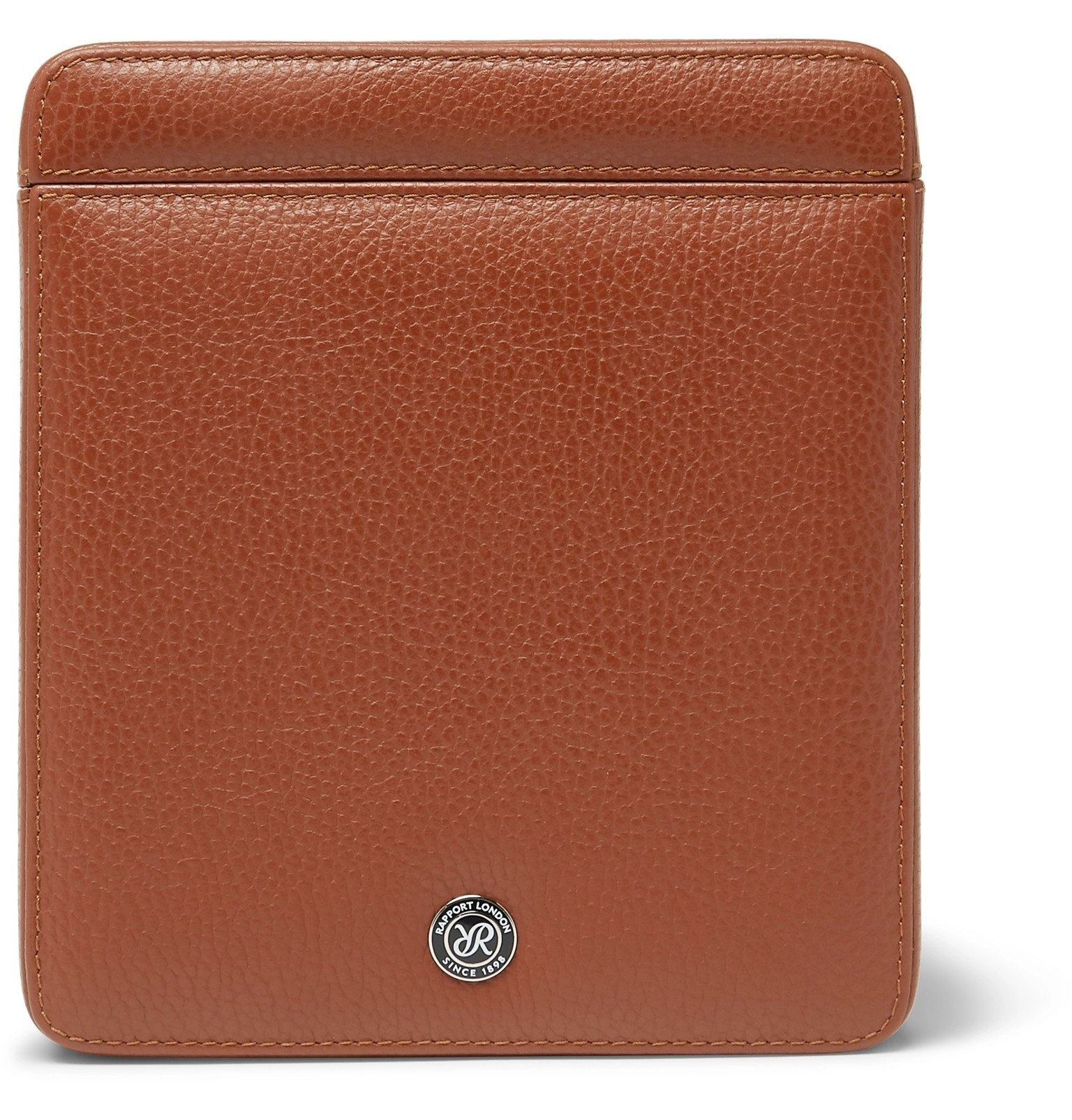 Photo: Rapport London - Full-Grain Leather Watch Case - Brown