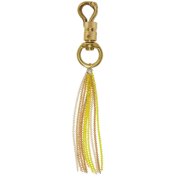 Photo: Linder Gold and Yellow Jacobus Keychain