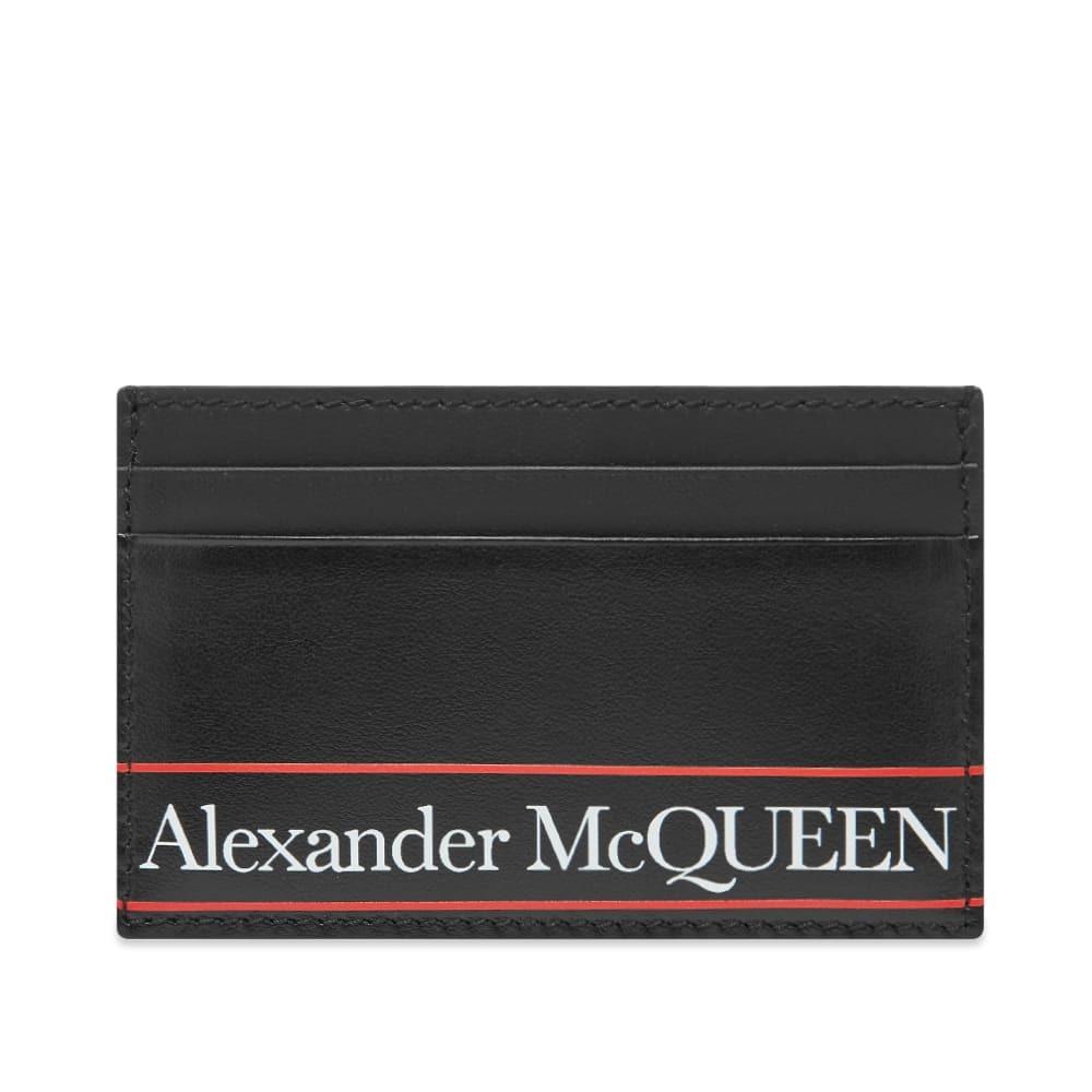 Photo: Alexander McQueen Tape Logo Card Holder