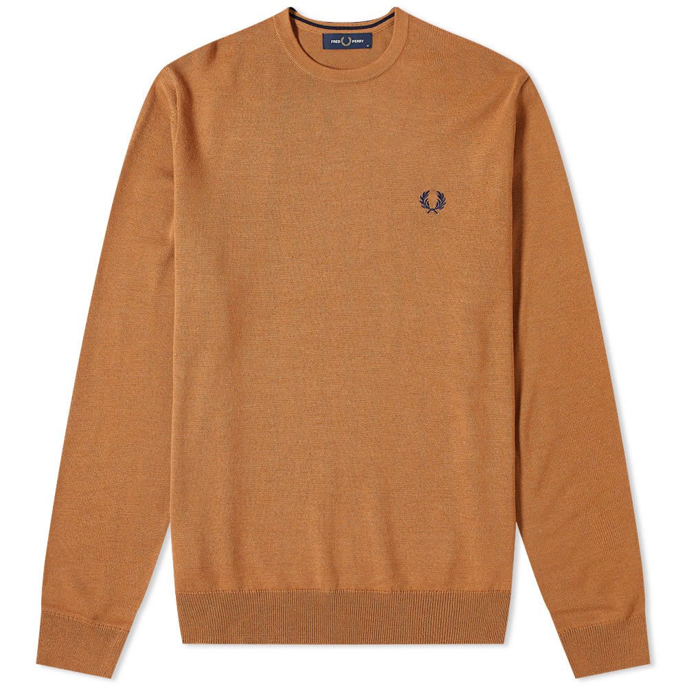 Photo: Fred Perry Authentic Crew Knit