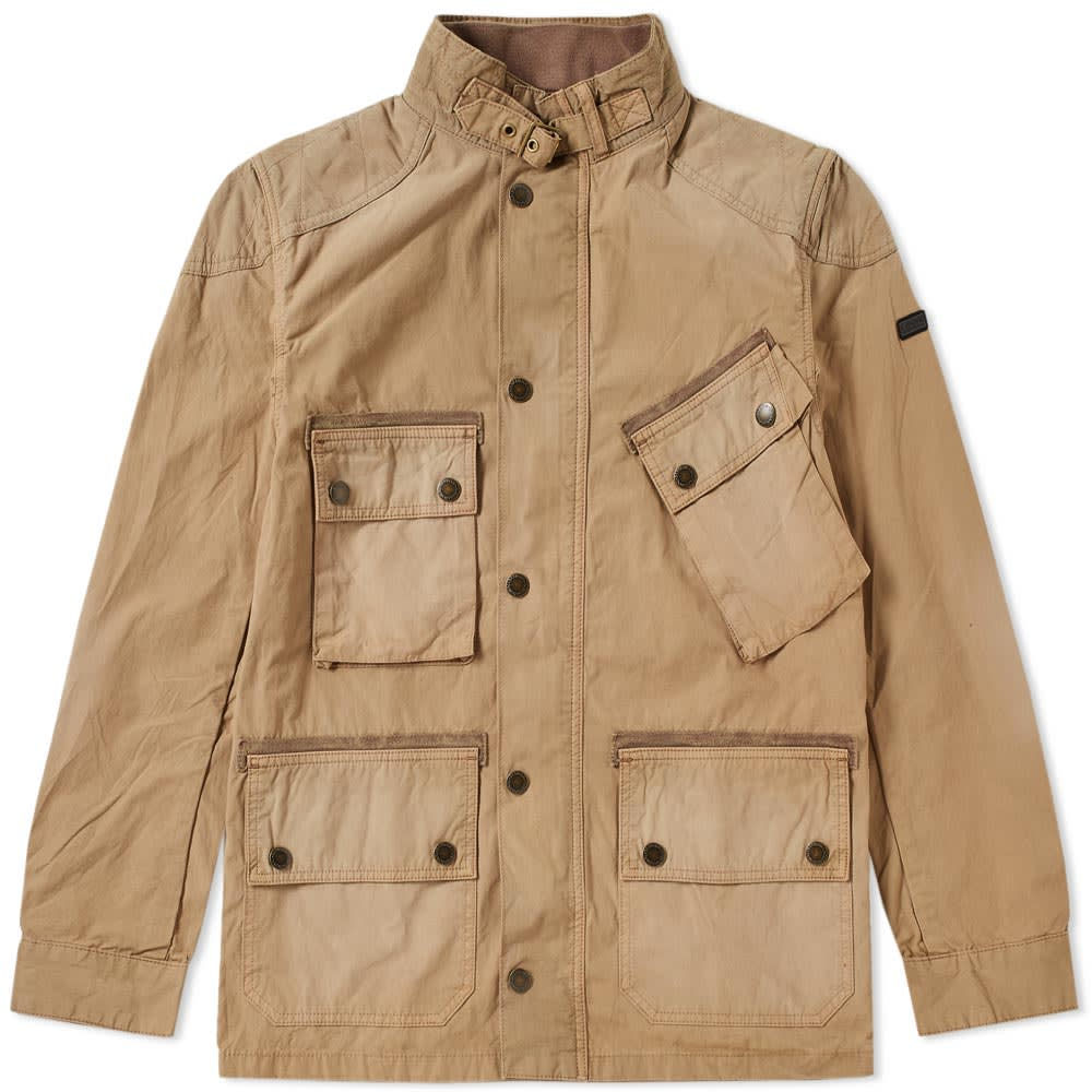 Photo: Barbour International Tempo Casual Jacket Brown