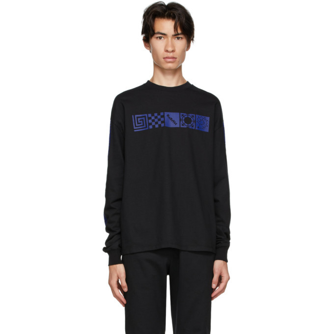 Photo: Rassvet Black Logo Long Sleeve T-Shirt