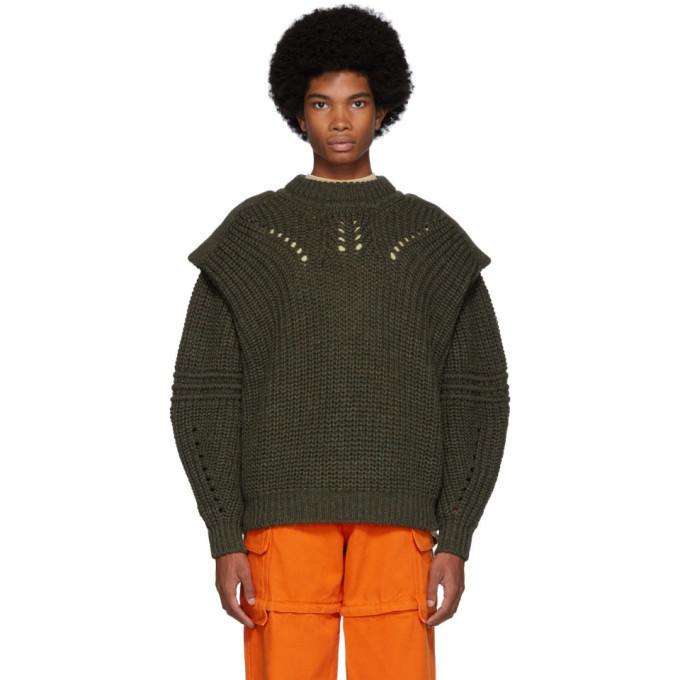 Photo: Isabel Marant Green Kentow Sweater