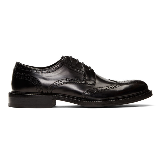 Photo: Tiger of Sweden Black Sabaton Brogues