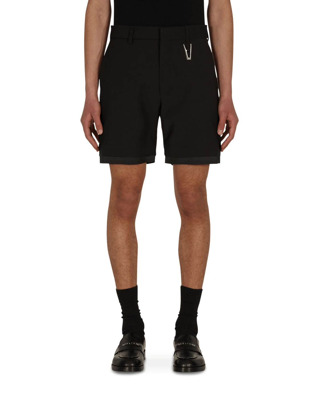 "Photo: 1017 Alyx 9sm ""A"" Tailoring Shorts Black"