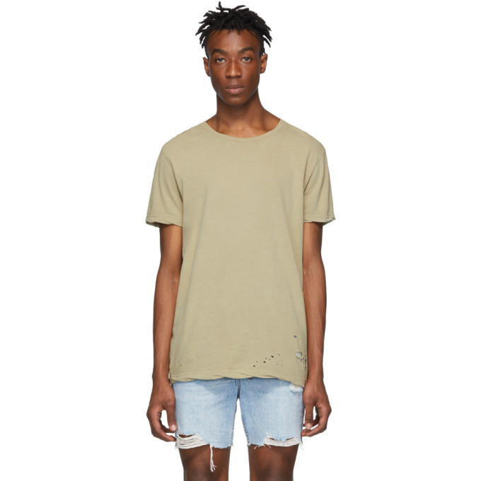 Ksubi Beige Sioux T-Shirt