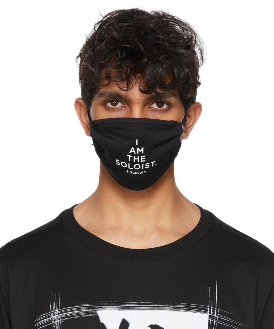 Photo: TAKAHIROMIYASHITA TheSoloist. Black Signature Face Mask
