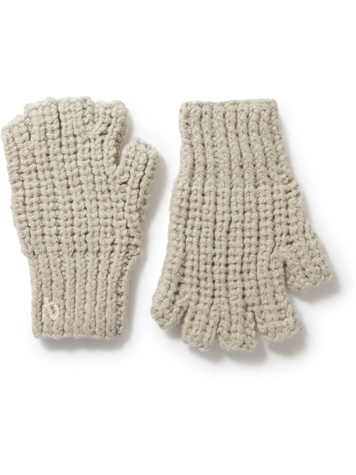 Photo: Rag & Bone - Ribbed-Knit Gloves