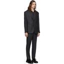 Giorgio Armani Grey Micro Neat Manhattan Suit