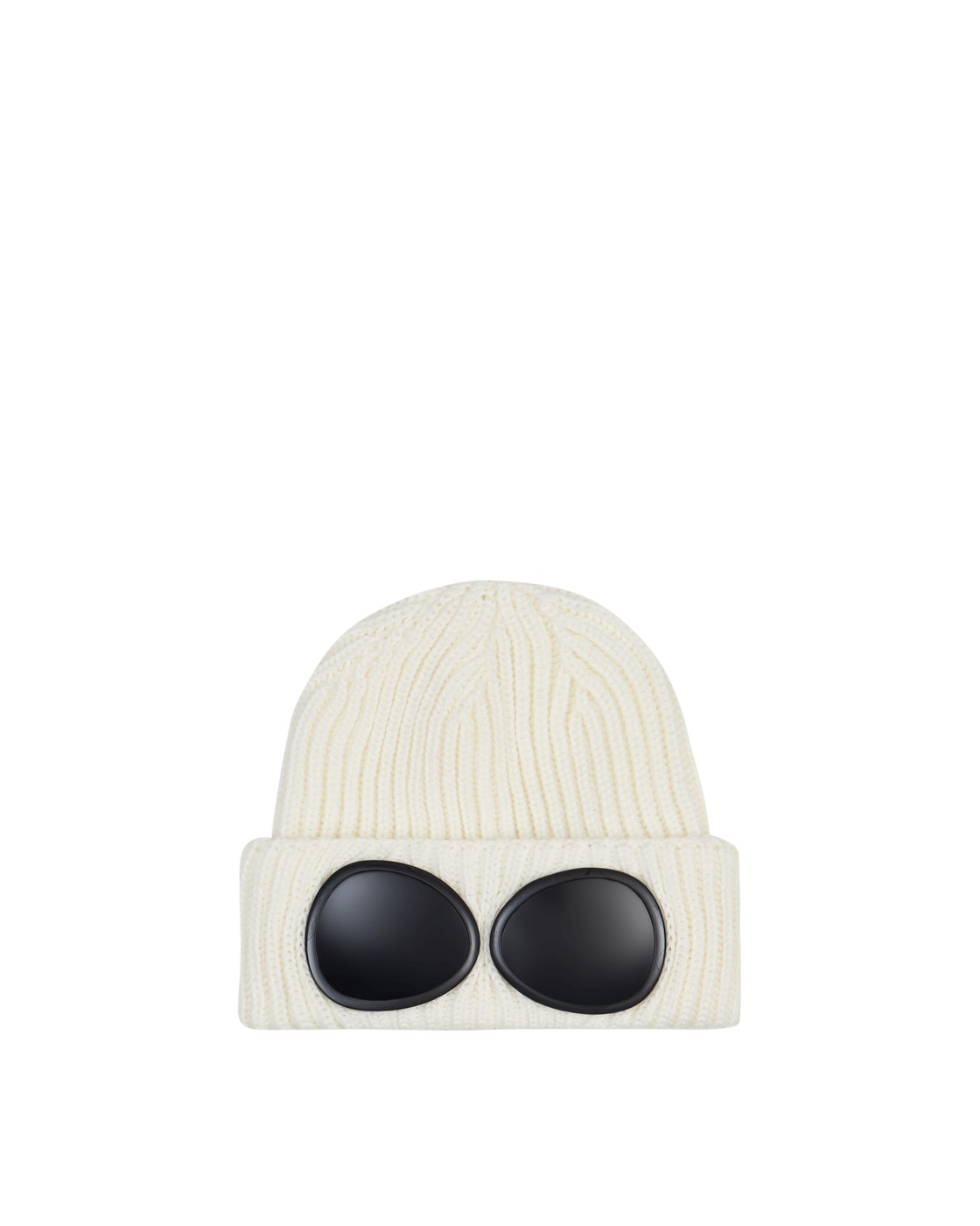 Photo: C.P. Company Goggle Beanie Gauze White