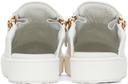 Giuseppe Zanotti White Slip-On Gail Sneakers