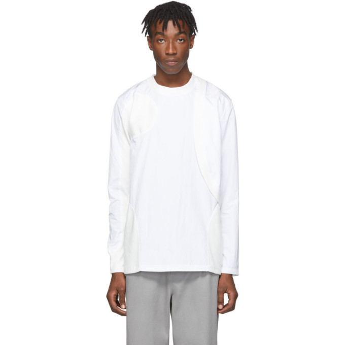 Photo: Post Archive Faction PAF White 2.0 Center Long Sleeve T-Shirt