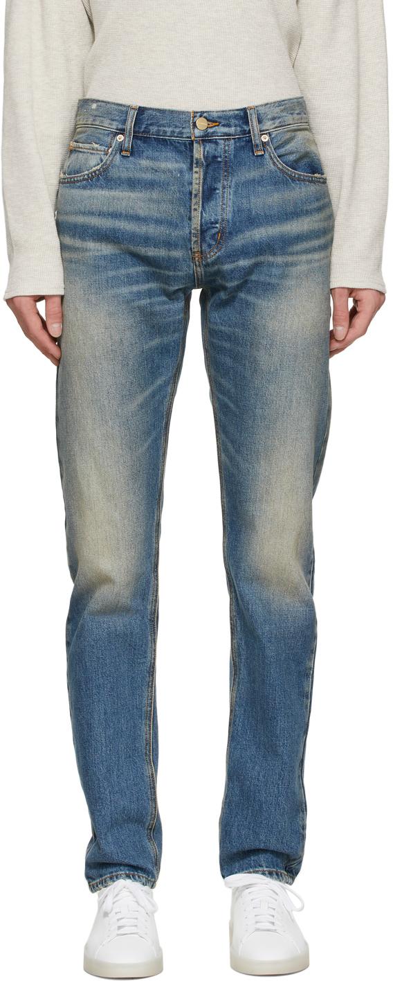 Photo: Essentials Indigo Denim Jeans