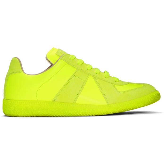 Photo: Maison Margiela Yellow Replica Sneakers