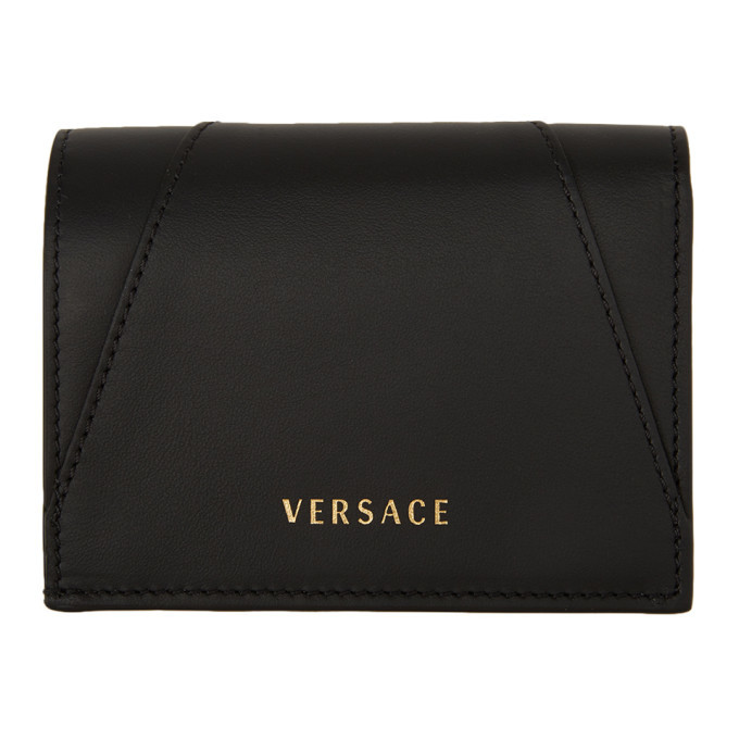 Versace Black Virtus Wallet