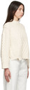 Stella McCartney Off-White Aran Stitch Sweater
