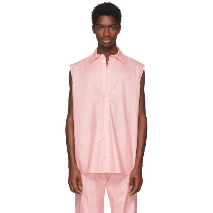 Photo: Anton Belinskiy Pink Sleeveless Shirt