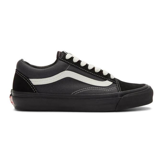 Photo: Vans Black and Grey OG Old Skool LX Sneakers