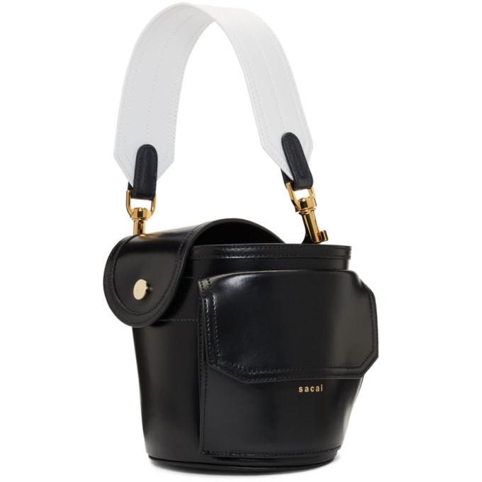 Sacai Black Thermos Bag