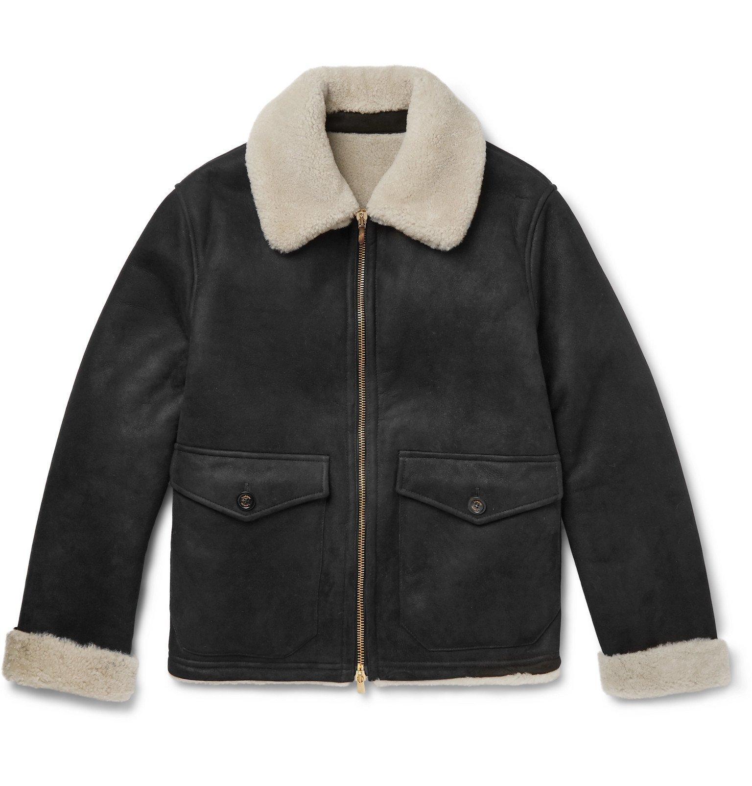 Photo: Lardini - Shearling Jacket - Black