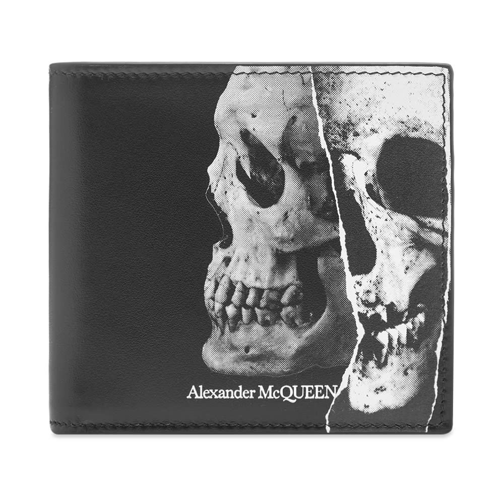 Photo: Alexander McQueen Fragment Skull Billfold Wallet