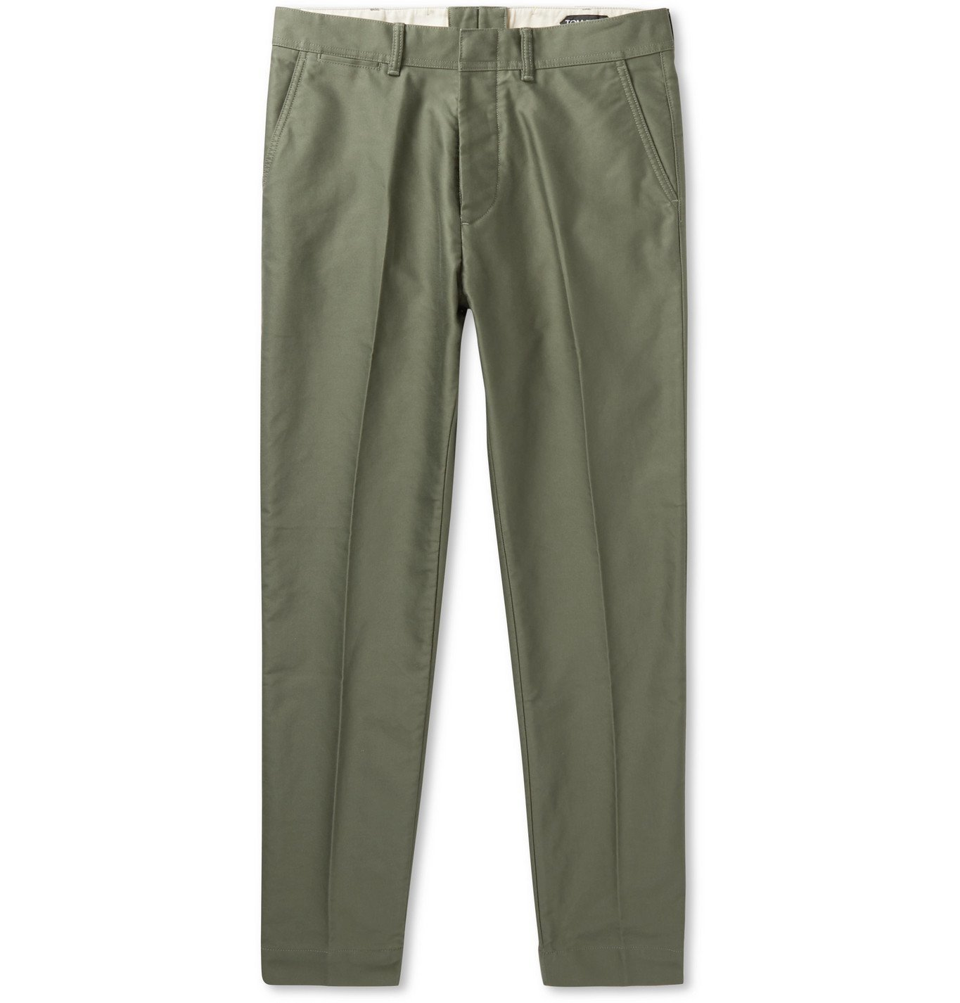 Photo: TOM FORD - Cotton Chinos - Green