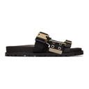 Sacai Black Belted Sandals