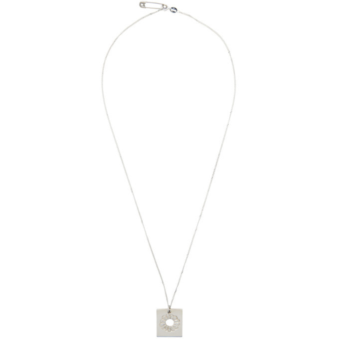 Photo: Bleue Burnham Silver The Marigold Pendant Necklace