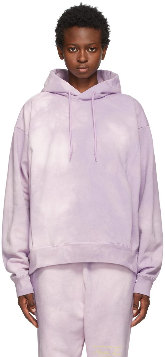 Photo: Martine Rose Purple Dye Classic Hoodie