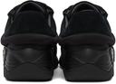 Raf Simons Black Suede Antei Sneakers
