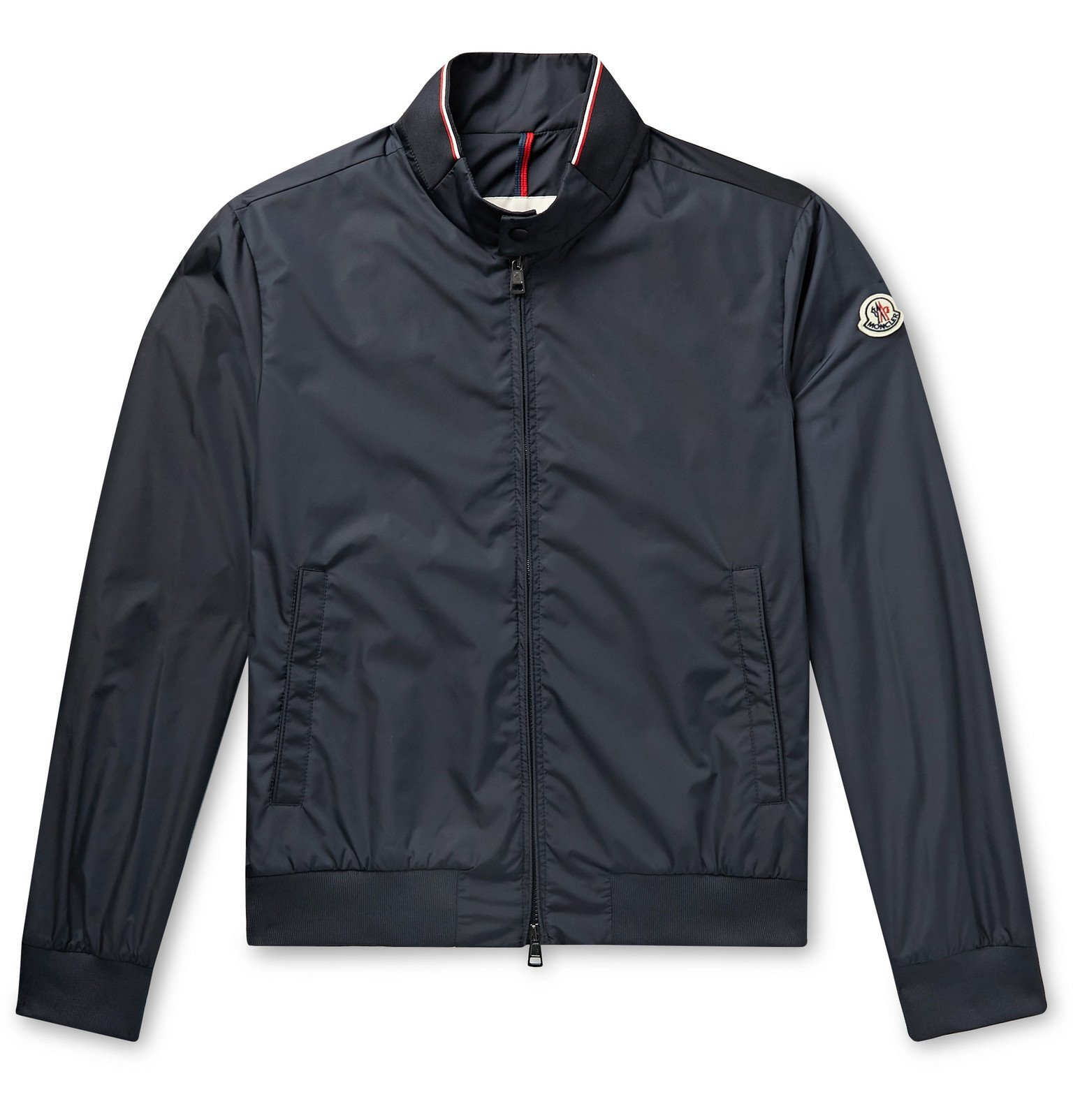 Photo: Moncler - Reppe Shell Bomber Jacket - Blue