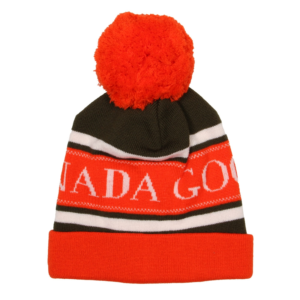 Photo: Merino Bobble Hat - Orange