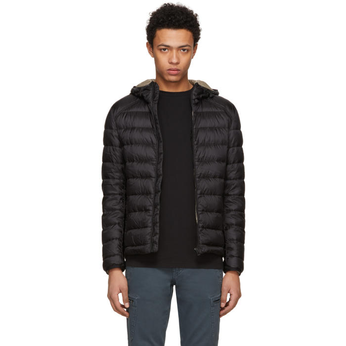 Photo: Belstaff Black Down Redenhall Jacket