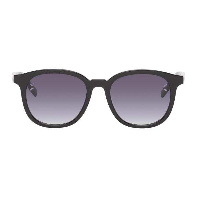 MCQ Black Round Sunglasses