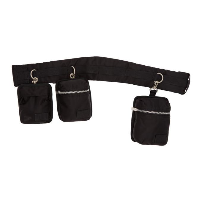 Sacai Black Belt Bag