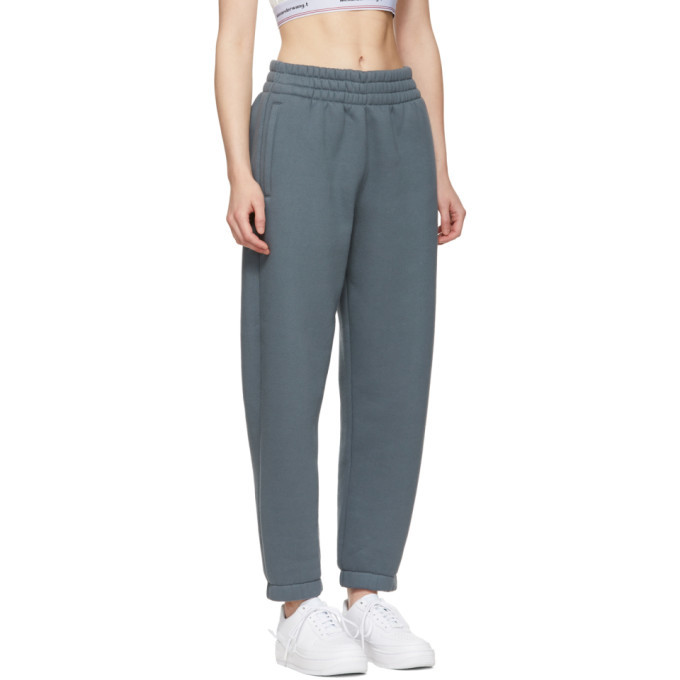 alexanderwang.t Grey Wash and Go Fleece Lounge Pants