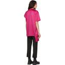 Raf Simons Pink Displaced Sleeve T-Shirt