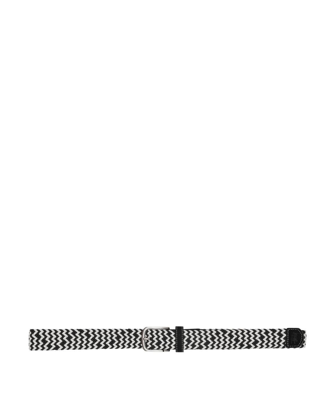 Photo: Stussy Woven Cord Belt Black