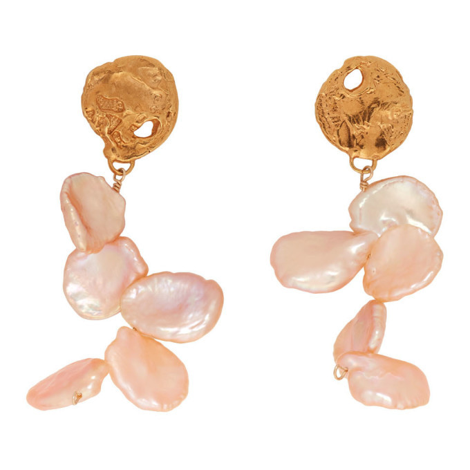 Alighieri Gold La Jetee Earrings