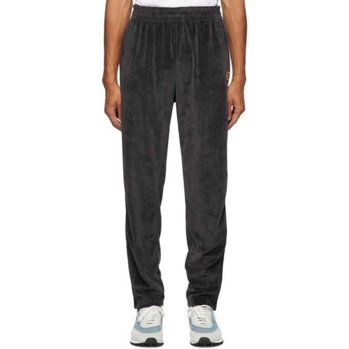 Photo: Nike Black Velour NikeCourt Tennis Lounge Pants