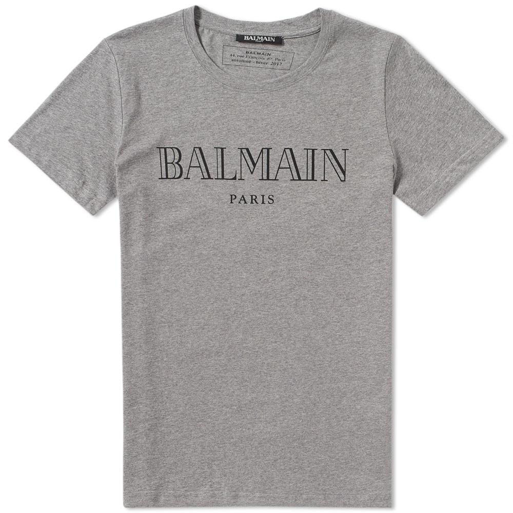 Photo: Balmain Logo Tee