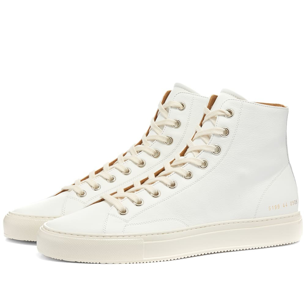 Photo: Common Projects Tournament High Leather Shiny