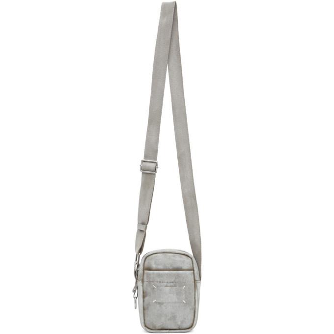 Photo: Maison Margiela White Bianchetto Mini Messenger Bag