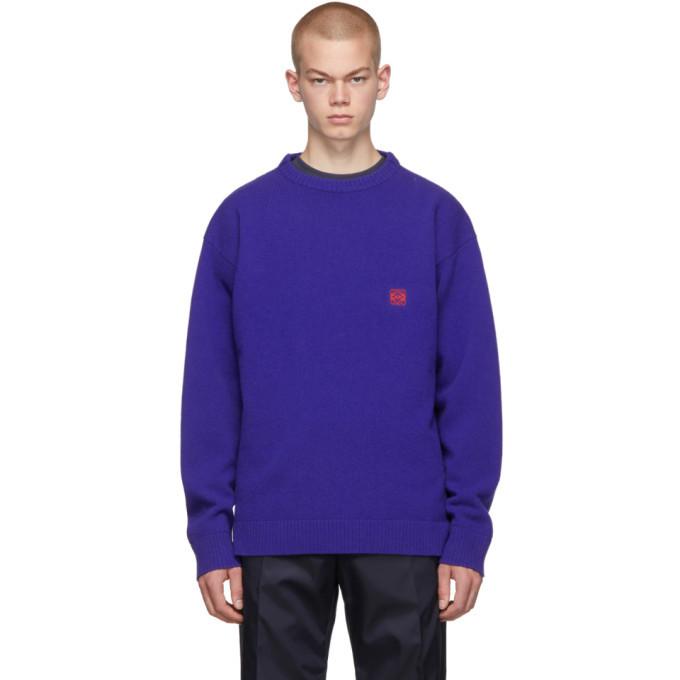 Photo: Loewe Blue Anagram Sweater